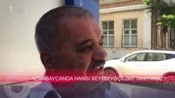 Azərbaycanda hansı xeyriyyəçiləri tanıyırsız?