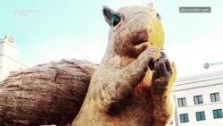Džinovska veverica izazvala haos u Kazahstanu