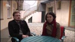 Ілля Єгоров (оператор) і Олександра Чупріна (співавтор)