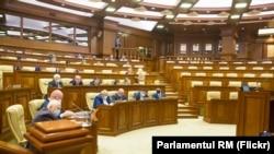 Ședința în plen a Parlamentului, fără opoziție, 16 decembrie 2020