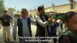 Afghan President Vows Vengeance After Deadly Wedding Bombing