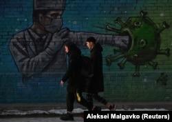 Граффити в Омске