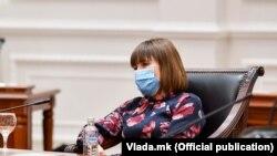 Министерката за образование и наука, Мила Царовска