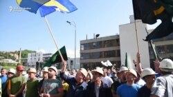 Rudari u Sarajevu poručuju: 'Ne budite rudarski gnjev'