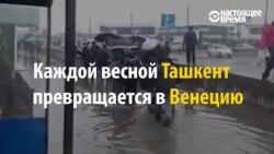 Весна в Ташкенте: город снова поплыл