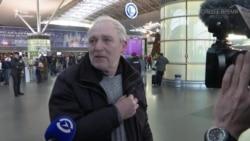 «Мій син – старший бортпровідник, полетів у Іран» – відео з аеропорту «Бориспіль»