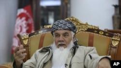 Ismail Khan afgán politikus, korábbi hadúr 2019 februárjában