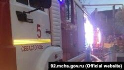 Гасіння пожежі в Севастополі, ілюстративне фото