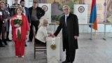 Armenians Vote As Nation Shifts Toward Parliamentary Governance