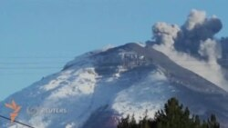 Эквадорда Котопахи вулқони уйғонди