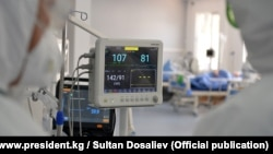 Одна из больниц в Кыргызстане, где лечатся пациенты с COVID-19.