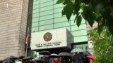 Այսօր առավոտից շրջափակվել էին Երևանի բոլոր դատարանների մուտքերը