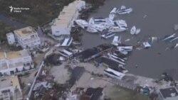 Urganul Irma a făcut ravagii pe insula caraibiană St.Maarten