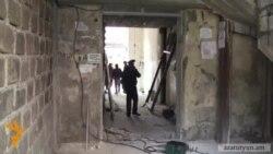 Սայաթ Նովա 25-ի միջանցիկ մուտքում շինարարություն սկսվեց
