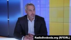 Руслан Рябошапка у студії Радіо Свобода