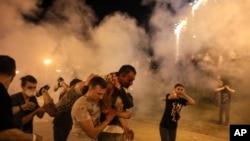 Силовое подавление акции протеста в Минске. 10 августа 2020 года.