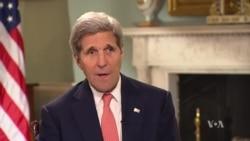 Intervista e John Kerry