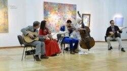 """Алматы мұражайындағы """"Сарыарқа"""" күйі мен кантри-музыка"""