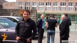 RFE/RL Journalist Attacked Outside Yerevan Polling Station