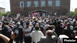 Armenia - Prime Minister Nikol Pashinian holds an election campaign rally in Gegharkunik province, June 12, 2021.
