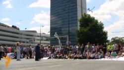 """Protest u Sarajevu """"Izađite i dajte im otkaz"""""""