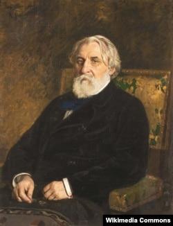Ілля Рєпін (Ріпин). «І. С. Тургенєв», 1874 рік