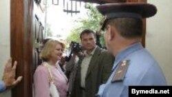 Пограничники задержали Анжелику Борис на четыре часа и в итоге забрали паспорт
