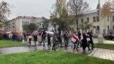 У Менску пачаўся жаночы марш