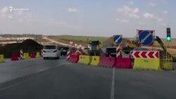 На трассе Керчь-Симферополь затруднено движение (видео)