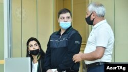 Во время суда над Вигеном Эульджекяном в Баку