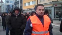 Radnički protest u Banjaluci zbog smanjenja plata