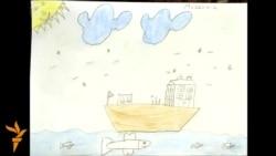 Izbeglički svet u dečjem crtežu