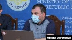 пресс-секретарь президента Нагорного Карабаха Ваграм Погосян