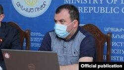 Yачальник главного информационного управления аппарата президента Нагорного Карабаха Ваграм Погосян.