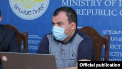 Пресс-секретарь президента Карабаха Ваграм Погосян (архив)