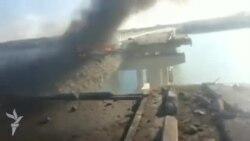 Toya gedən maşın karvanı körpüdə partladıldı, azı 15 nəfər həlak oldu
