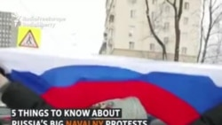 5 Things To Know About Russia's Big Navalny Protests