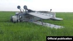 Упавший в окрестностях Кызылорды самолет Ан-2. 4 июля 2021 года