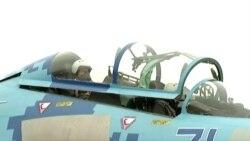 Порошенко совершил полет на истребителе Су-27
