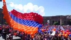 Amplă manifestație de susținere la Erevan pentru liderul opoziției armene