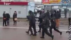Над 200 арестувани на протеста в Минск