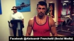 Александр Франчетти в фитнес-клубе Vagon в Праге