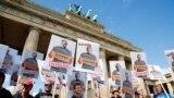 Demonstrație împotriva restricțiilor sanitare impuse de pandemia de coronavirus. Berlin, 29 august 2020.