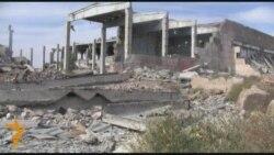 Руины советской станции