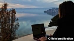 Дигитален номад во Охрид