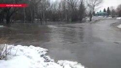 В Восточном Казахстане снова наводнение