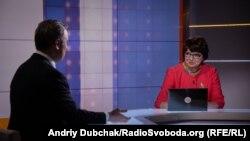"""Інна Кузнецова, ведуча програми """"Суботнє інтерв'ю"""""""