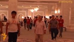 "Тарвих-намаз в мечети ""Хазрет Султан"""