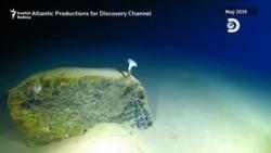 Okeanyň düýbünde uly çuňlukda zir-zibil tapyldy