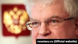 Եվրոպական միությունում Ռուսաստանի Դաշնության դեսպան Վլադիմիր Չիժովը, արխիվ